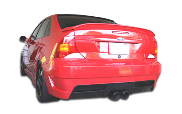 2000-2004 Ford Focus 4DR Duraflex Pro-DTM Rear Bumper Cover - 1 Piece (S)
