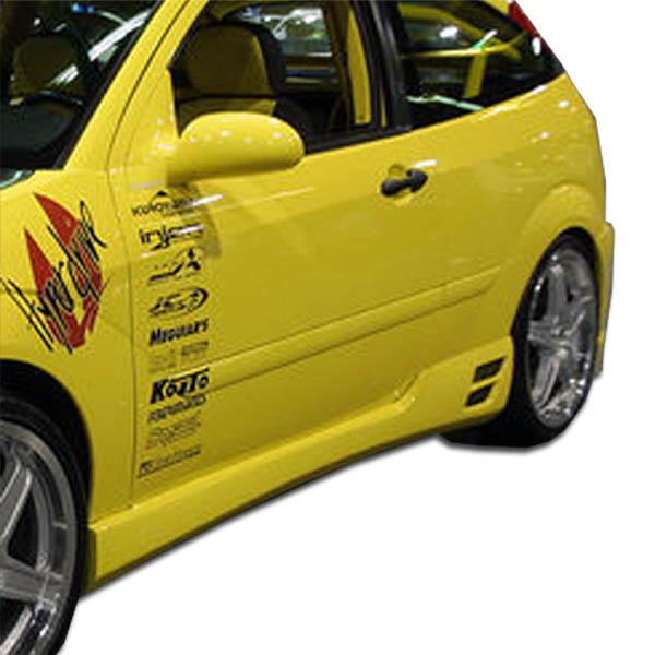 2000-2007 Ford Focus ZX3 Duraflex Evo 3 Side Skirts Rocker Panels - 2 Piece
