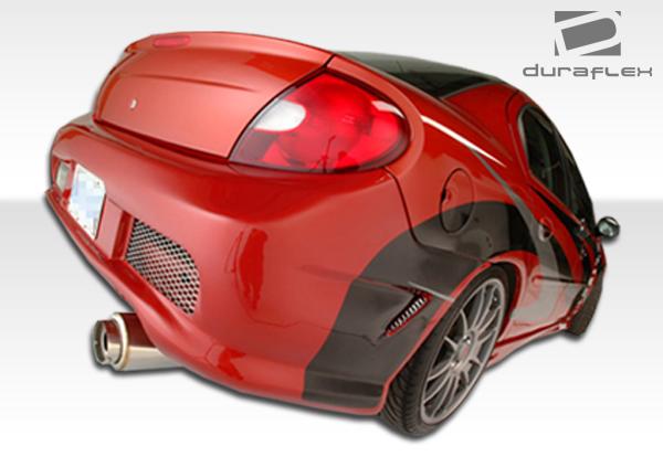 2000-2002 Dodge Neon Duraflex Kombat Rear Bumper Cover - 1 Piece (S)