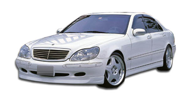 2000-2002 Mercedes S Class W220 Duraflex BR-S Front Lip Under Spoiler Air Dam - 1 Piece
