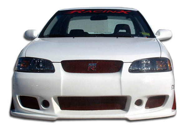 2000-2003 Nissan Sentra Duraflex B-2 Front Bumper Cover - 1 Piece
