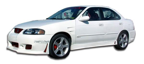 2000-2006 Nissan Sentra Duraflex B-2 Side Skirts Rocker Panels - 2 Piece