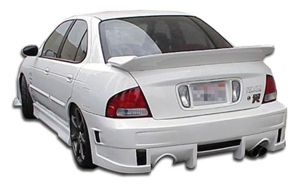 2000-2003 Nissan Sentra Duraflex Evo 4 Rear Bumper Cover - 1 Piece (S)