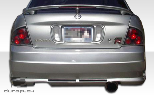 2000-2003 Nissan Sentra Duraflex R34 Rear Bumper Cover - 1 Piece (S)