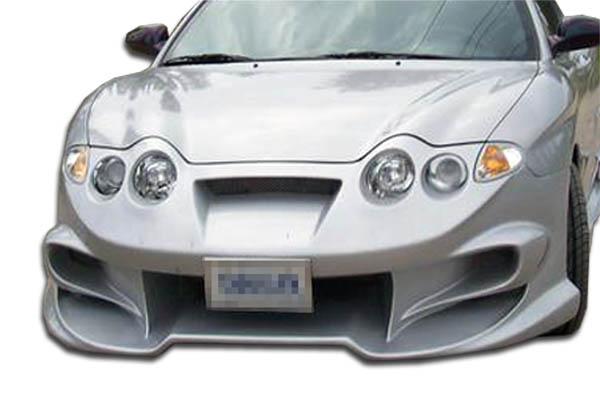 2000-2001 Hyundai Tiburon Duraflex Vader Front Bumper Cover - 1 Piece