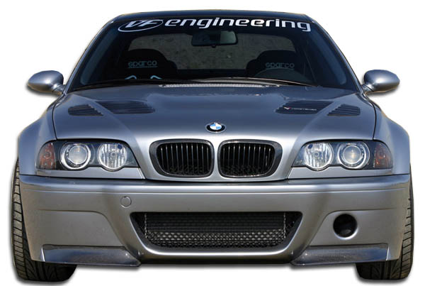 2001-2006 BMW M3 E46 Convertible 2DR Carbon Creations CSL Look Front Bumper Cover - 1 Piece