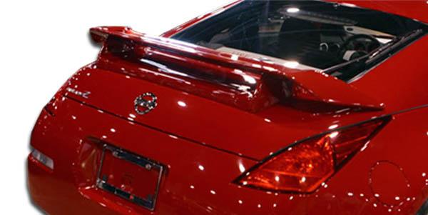 2003-2008 Nissan 350Z Z33 2DR Coupe Duraflex N-1 Wing Trunk Lid Spoiler - 1 Piece