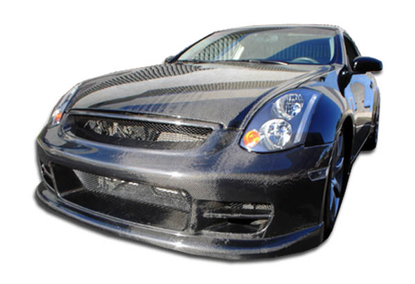 2003-2007 Infiniti G Coupe G35 Carbon Creations TS-1 Front Bumper Cover - 1 Piece