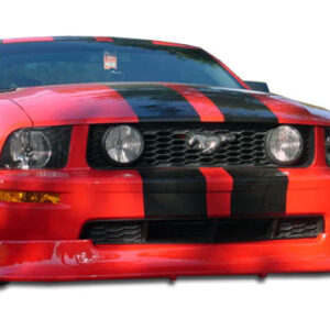 2005-2009 Ford Mustang V6 Duraflex Racer Front Lip Under Spoiler Air Dam - 1 Piece