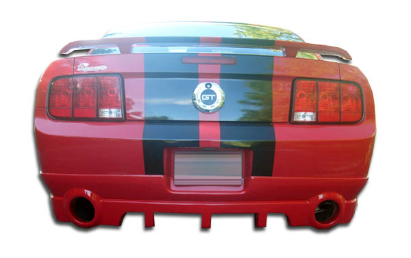 2005-2009 Ford Mustang Duraflex Racer Rear Lip Under Spoiler Air Dam - 1 Piece