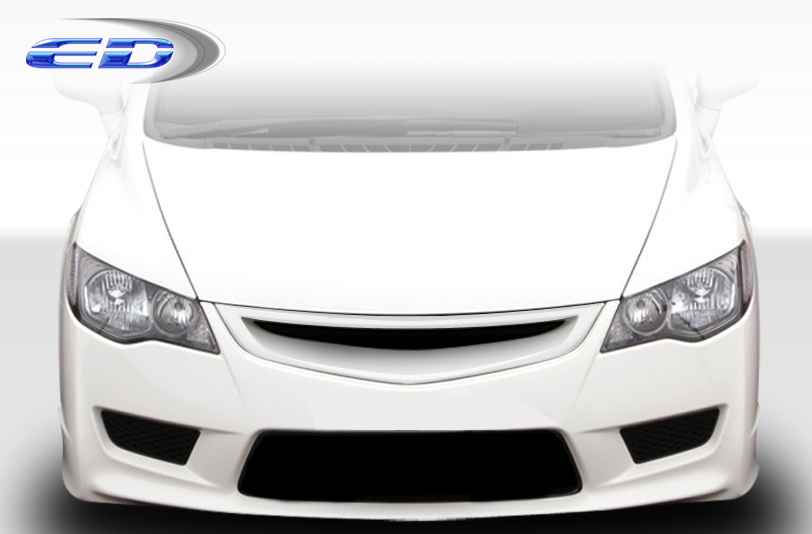 2006-2011 Honda Civic 4dr JDM Type R Conversion Headlights - 2 Piece