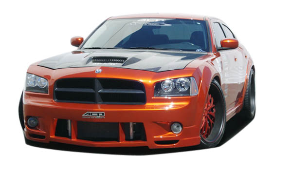 2006-2010 Dodge Charger Couture Urethane Luxe Wide Body Front Bumper Cover - 1 Piece