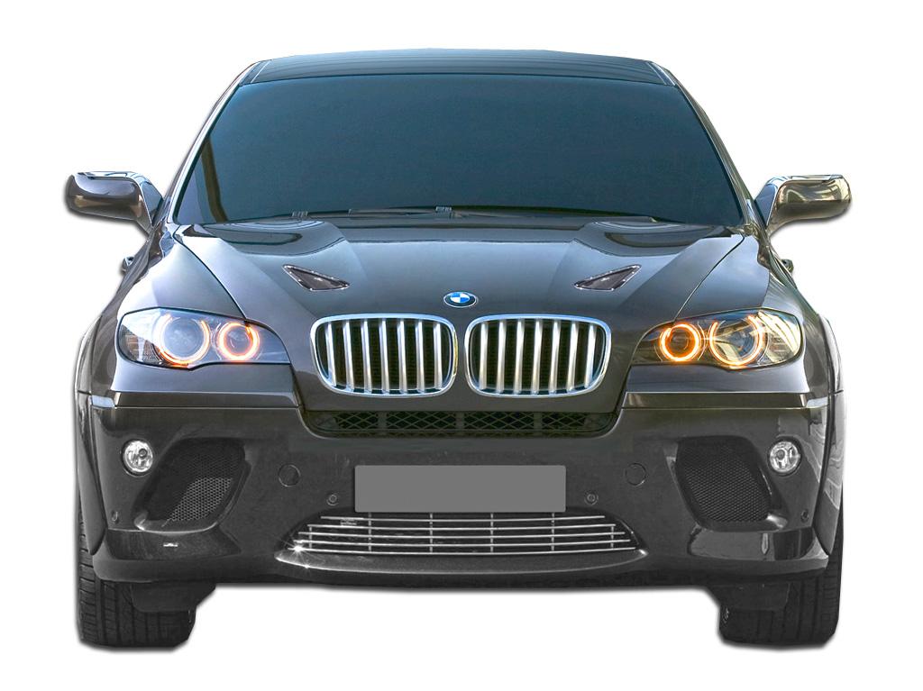 2008-2014 BMW X6 E71 AF-1 Hood Vents ( GFK ) - 6 Piece (S)