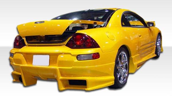2000-2005 Mitsubishi Eclipse Duraflex Bomber Rear Bumper Cover - 1 Piece