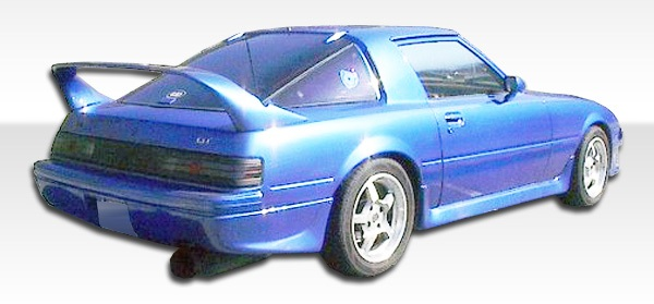 1979-1985 Mazda RX-7 Duraflex M-1 Speed Rear Lip Under Spoiler Air Dam - 1 Piece
