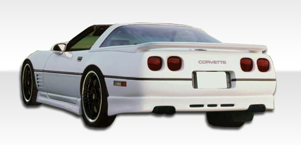 1984-1990 Chevrolet Corvette C4 Duraflex GTO Rear Lip Under Spoiler Air Dam - 1 Piece