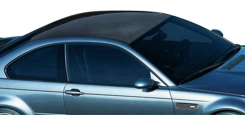 2000-2006 BMW 3 Series M3 E46 2DR Carbon AF-1 Hard Top Roof ( CFP ) - 1 Piece