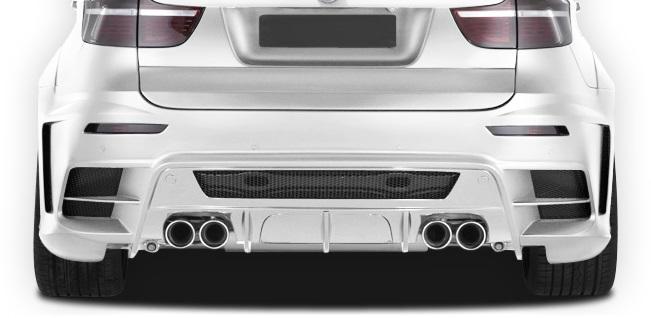 2008-2014 BMW X6 X6M AF-3 Wide Body Exhaust ( Metal ) - 1 Piece (S)