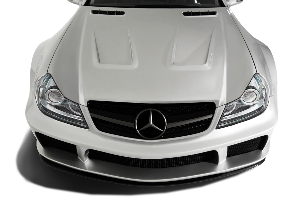 2003-2012 Mercedes SL Class R230 AF Signature 2 Series Wide Body Conversion Front Bumper Cover ( GFK ) - 1 Piece