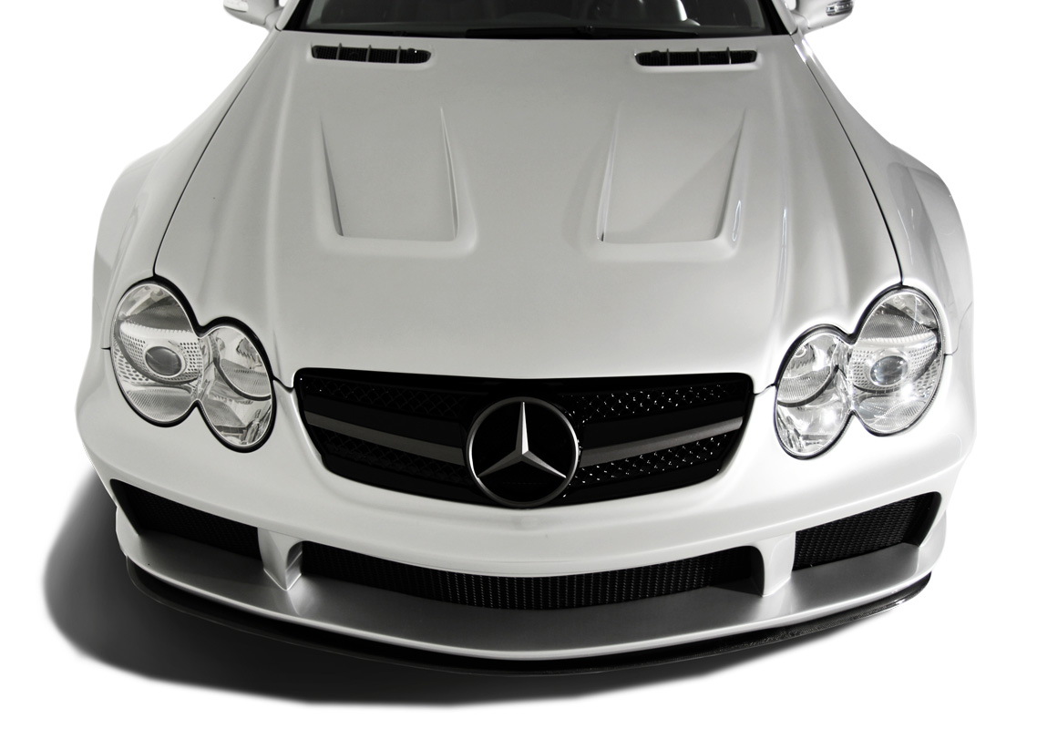 2003-2008 Mercedes SL Class R230 AF Signature 1 Series Wide Body Conversion Front Bumper Cover ( GFK ) - 1 Piece