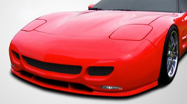1997-2004 Chevrolet Corvette C5 Couture Urethane TS Edition Front Bumper Cover - 1 Piece