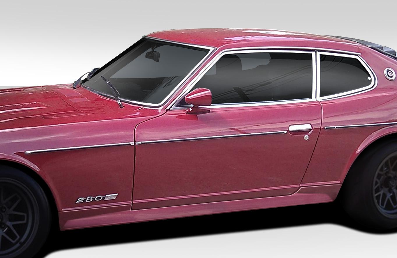 1974-1978 Nissan 260Z 280Z 2+2 Duraflex MS-R Side Skirts Rocker Panels - 2 Piece