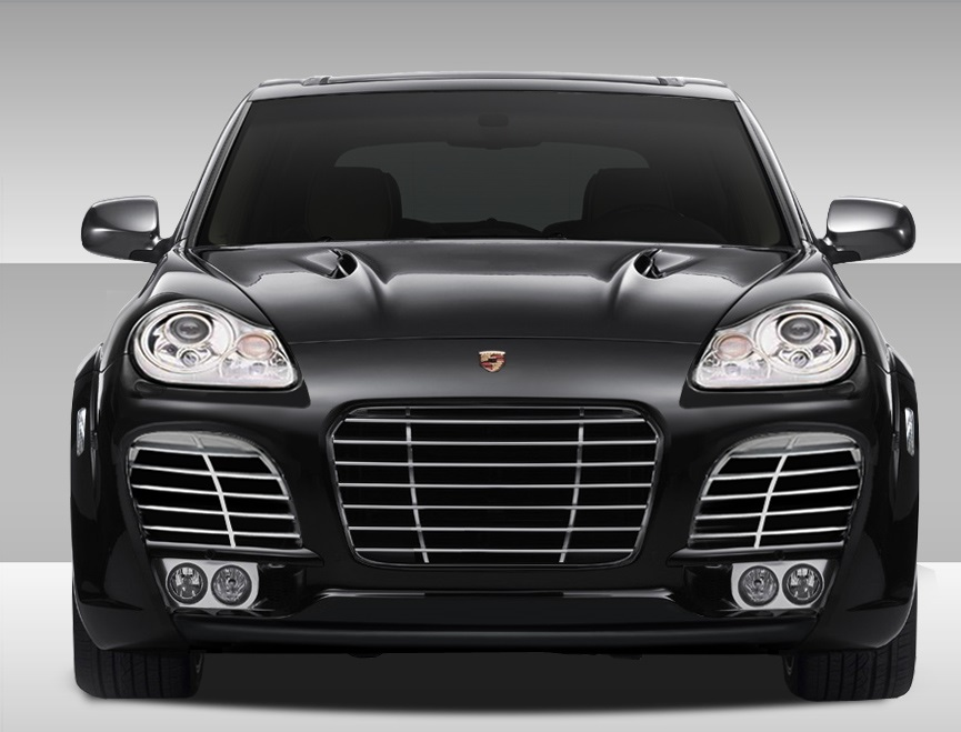 2003-2006 Porsche Cayenne Eros Version 1 Wide Body Front Bumper Cover - 1 Piece