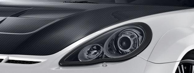 2010-2013 Porsche Panamera Carbon AF-1 Wide Body Eye Lids ( CFP ) - 2 Piece
