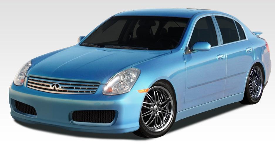 2003-2004 Infiniti G Sedan G35 Polyurethane N-1 Front Bumper Cover - 1 Piece (S)
