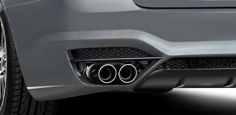 2011-2016 BMW 5 Series F10 4DR AF-3 Exhaust ( Metal ) - 1 Piece (S)