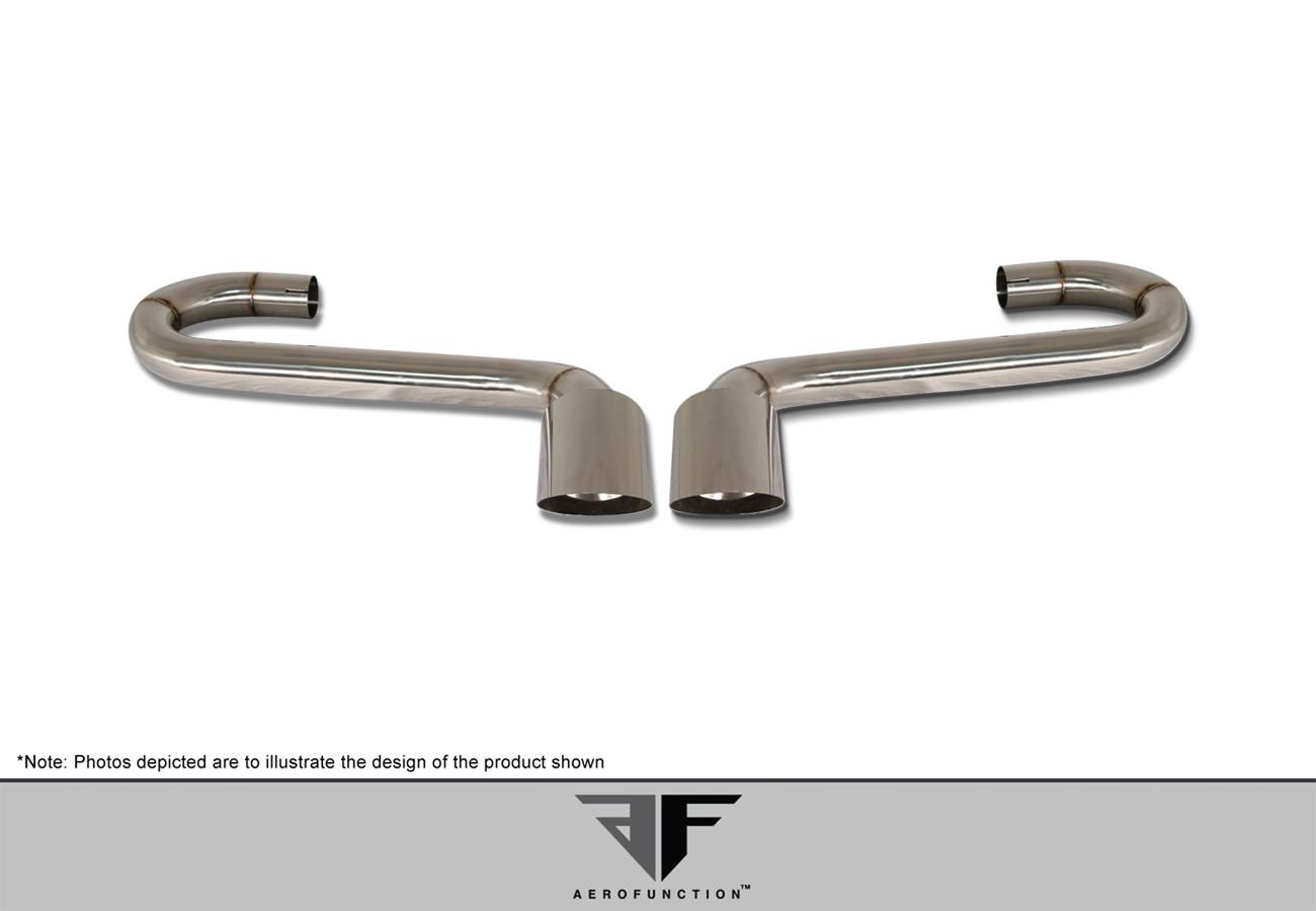 2011-2014 Porsche Cayenne AF-3 Widebody Exhaust ( Metal ) - 1 Piece (S)
