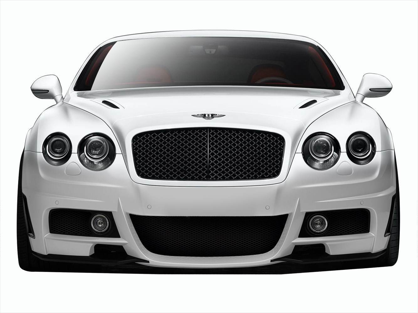 2003-2010 Bentley Continental GT GTC AF-1 Front Bumper Cover ( GFK ) - 1 Piece