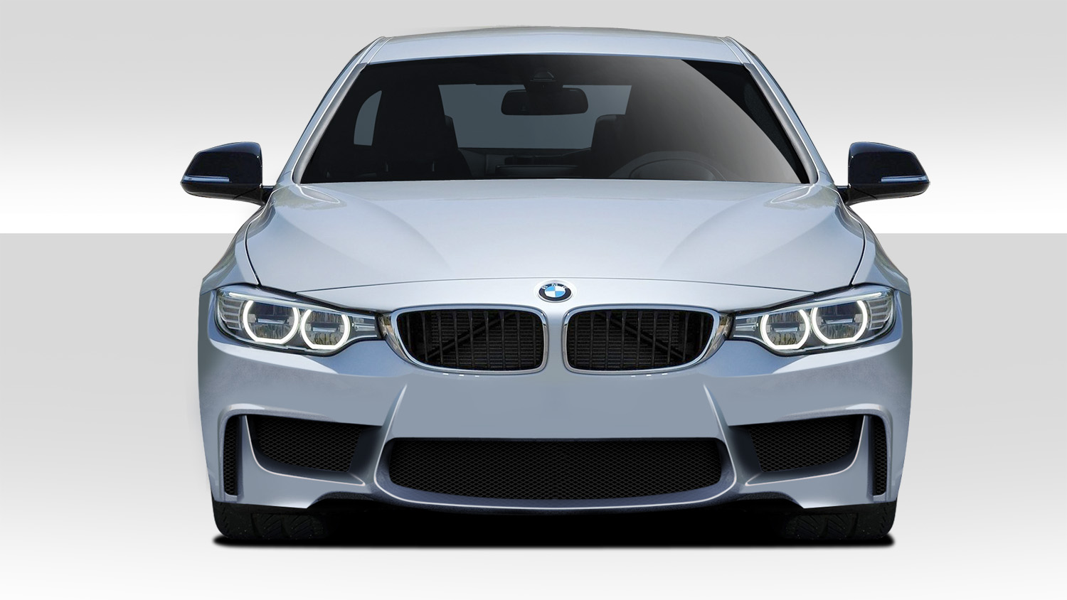 2014-2020 BMW 4 Series F32 Duraflex 1M Look Front Bumper Cover - 1 Piece (S)