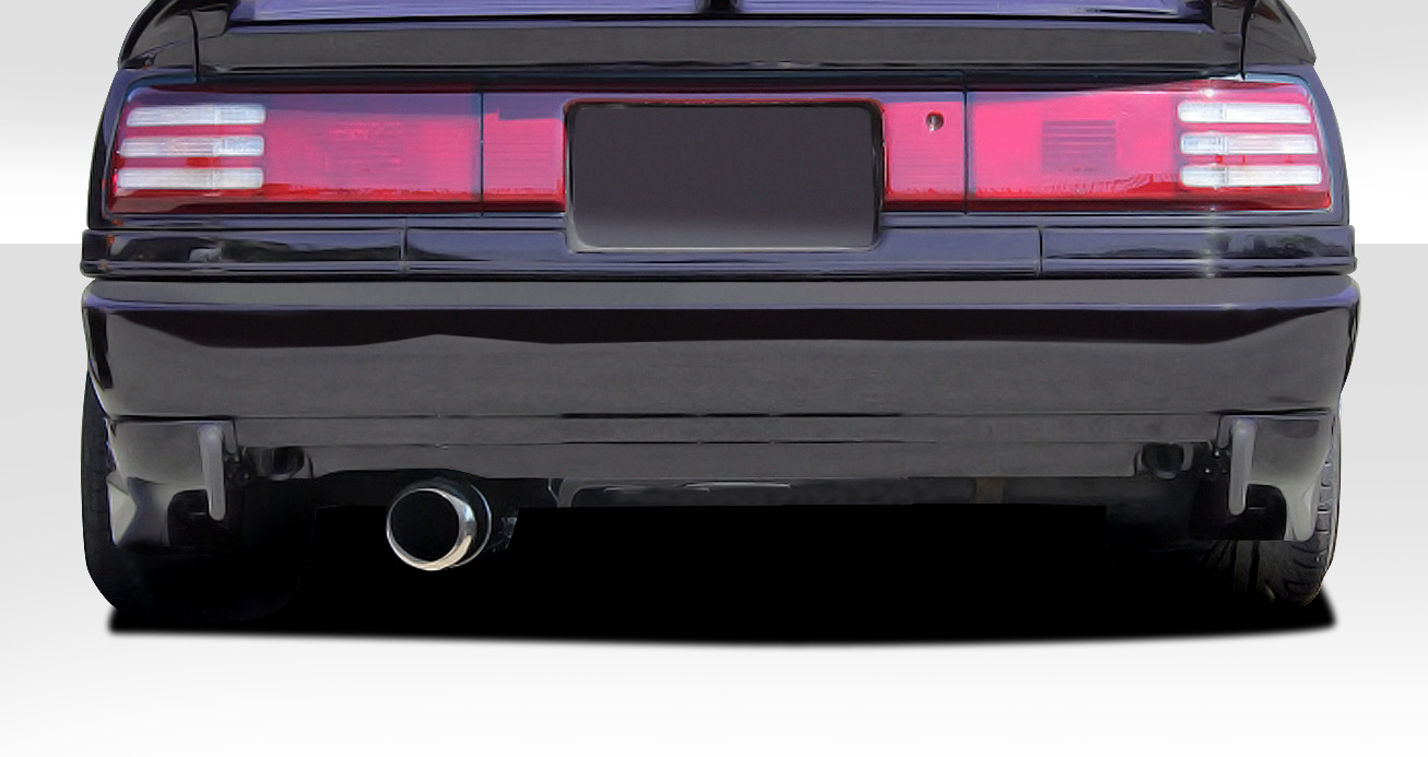 1986-1992 Toyota Supra Duraflex AB-F Rear Add Ons Spat Extensions - 2 Piece