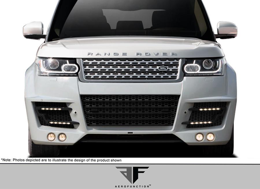 2013-2015 Land Rover Range Rover AF-1 Wide Body Fog Lights ( Metal ) - 4 Piece (S)