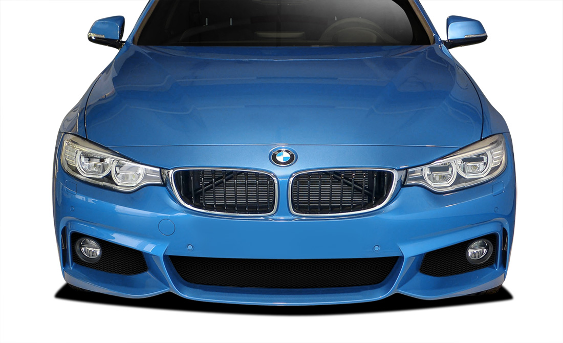 2014-2020 BMW 4 Series F32 Couture Urethane M Sport Look Front Bumper Cover - 1 Piece (S)