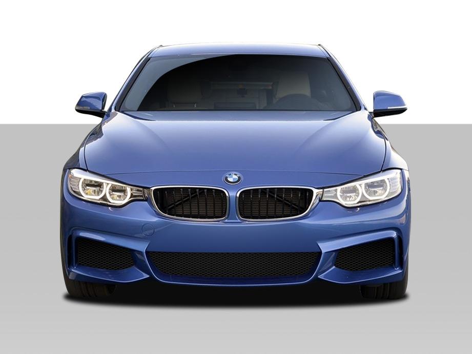 2014-2020 BMW 4 Series F32 Duraflex M Sport Look Front Bumper Cover - 1 Piece (S)