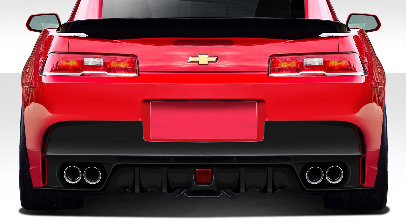 2014-2015 Chevrolet Camaro Duraflex GT Concept Rear Bumper Cover - 1 Piece