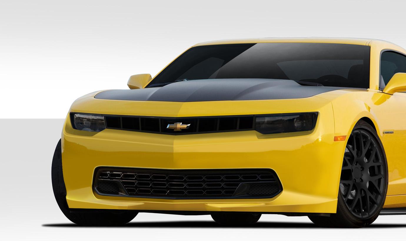 2014-2015 Chevrolet Camaro Duraflex Stingray Z Look Front Bumper Cover - 1 Piece