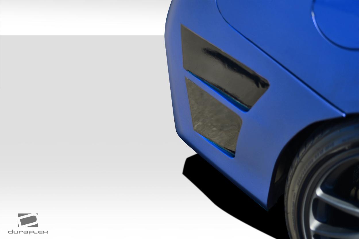 2015-2020 Subaru WRX Duraflex NBR Concept Rear Bumper Cover - 1 Piece