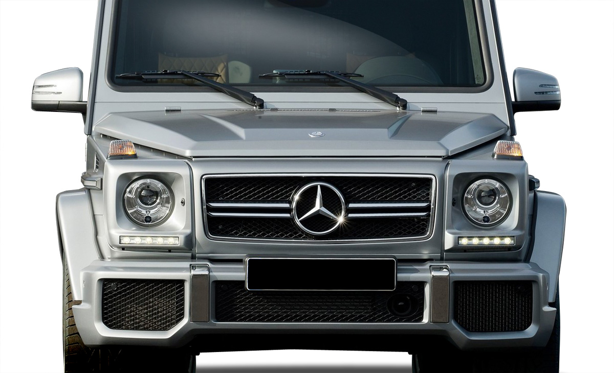 2000-2015 Mercedes G Class W463 Vaero G63 Look Front Bumper Cover ( with PDC ) - 1 Piece (S)