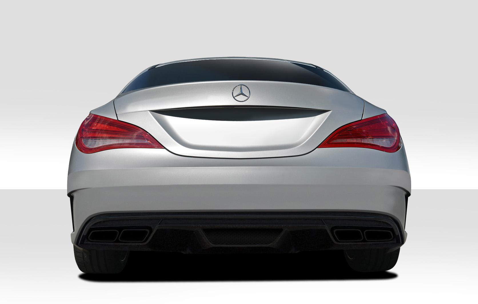 2014-2015 Mercedes CLA Class Duraflex Black Series Look Rear Bumper Cover - 1 Piece