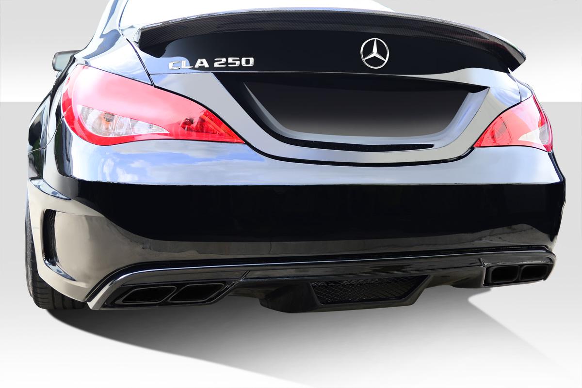 2014-2015 Mercedes CLA Class Duraflex Black Series Look Wide Body Rear Bumper Cover - 1 Piece