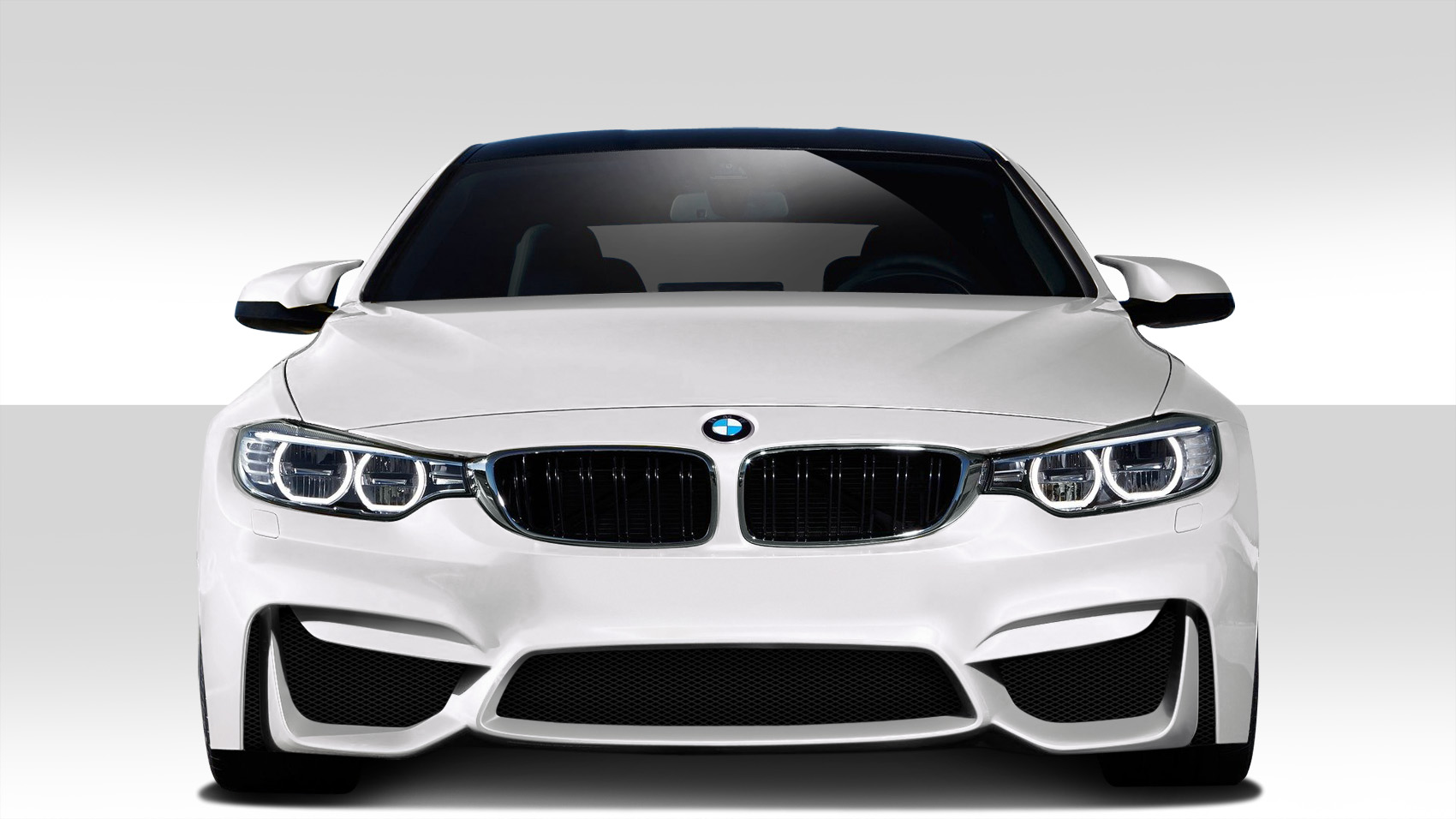 2014-2020 BMW 4 Series F32 Duraflex M4 Look Front Bumper Cover - 1 Piece