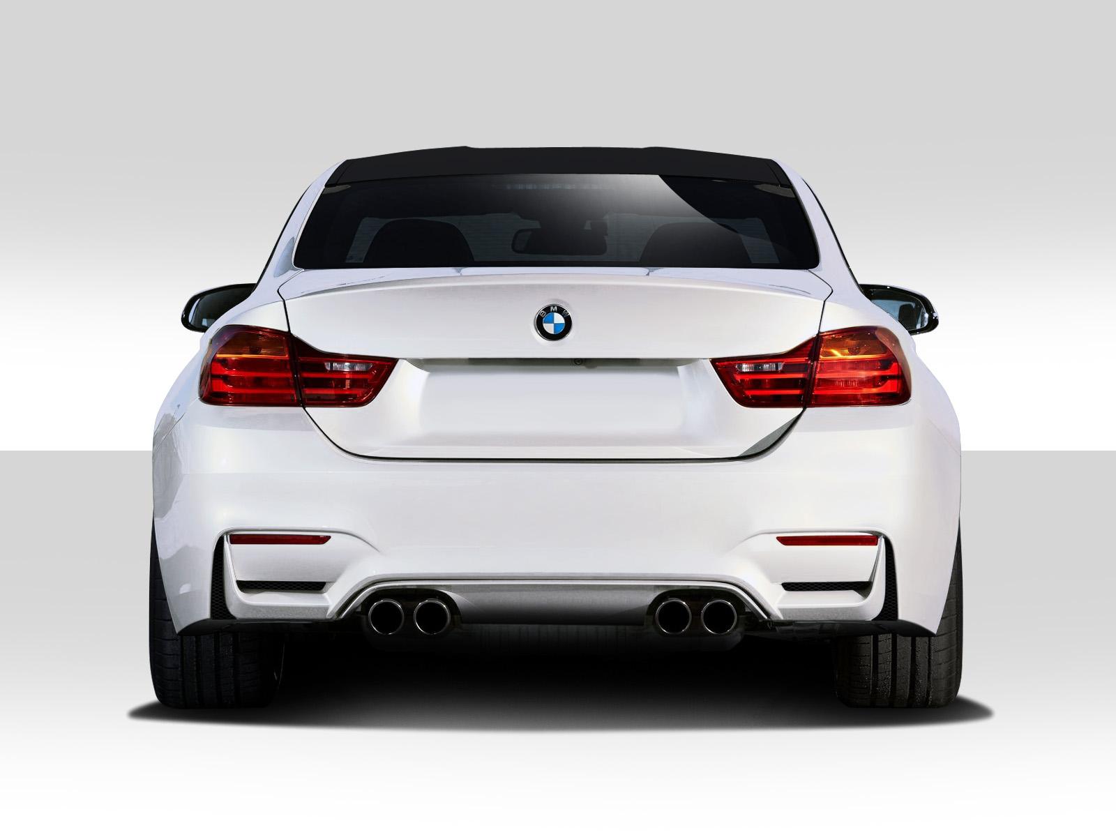 2014-2020 BMW 4 Series F32 Duraflex M4 Look Rear Bumper Cover - 1 Piece