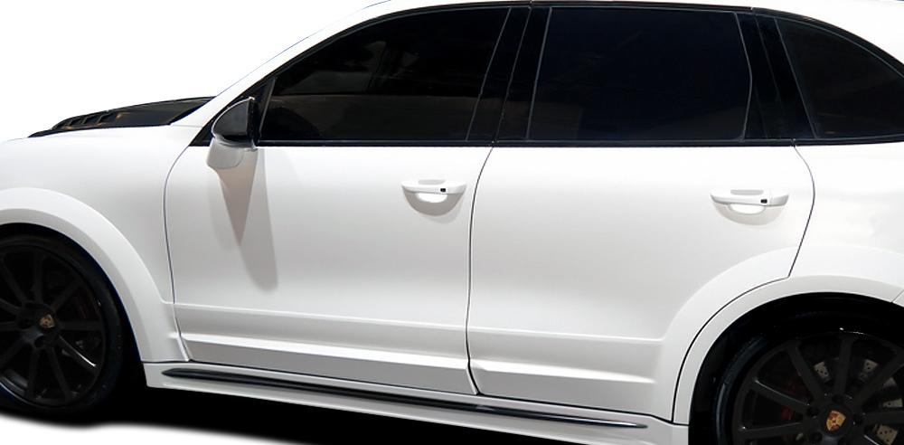 2011-2014 Porsche Cayenne AF-4 Wide Body Door Caps ( GFK ) - 4 Piece (S)