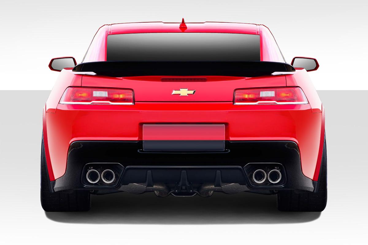 2014-2015 Chevrolet Camaro Duraflex Z28 Look Rear Bumper Cover - 1 Piece