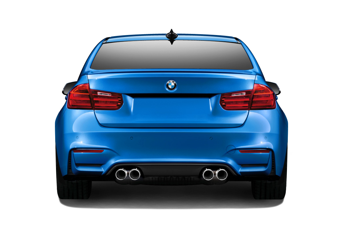 2012-2018 BMW 3 Series F30 Couture Urethane M3 Look Rear Bumper (requires diffuser and change to M3 M4 Look exhaust ) - 1 Piece