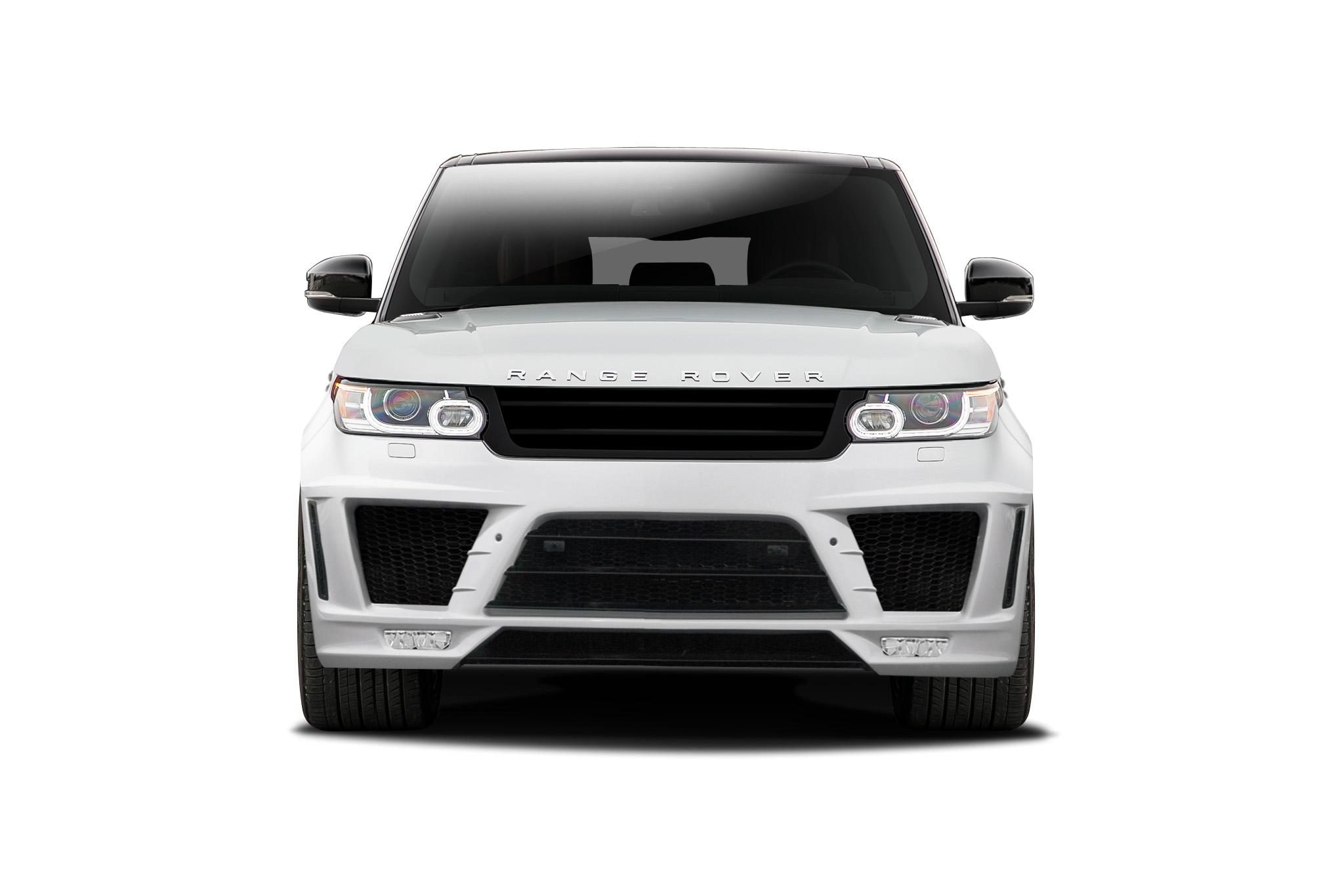 2014-2015 Land Rover Range Rover Sport Urethane AF-1 Front Bumper ( PUR-RIM ) - 1 Piece