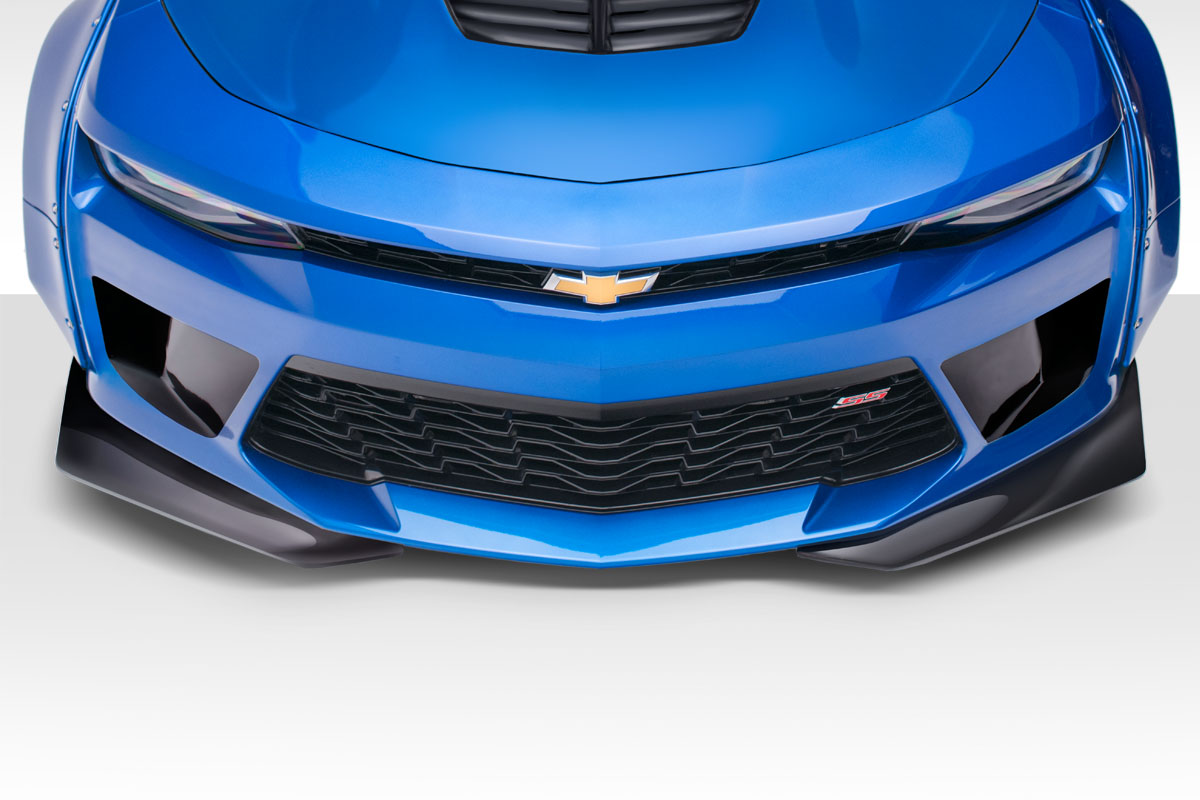2016-2018 Chevrolet Camaro Duraflex Grid Front Bumper - 1 Piece ( With Integrated front bumper air ducts and front splitters)